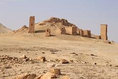 Vallée des tombes Ruines de la ville antique du Palmyra Photo libre de droits