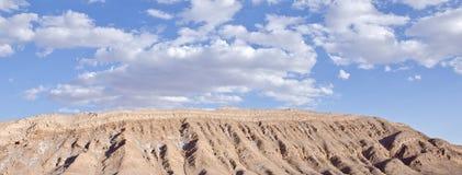 Vallée du désert d'Atacama de lune Chili #4 Images libres de droits