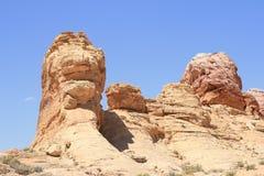 vallée du Nevada d'incendie Images stock