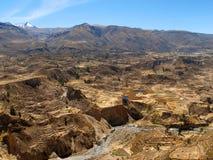 Vallée du Pérou Images stock