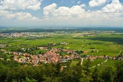 vallée du Rhin photos stock