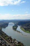Vallée du Rhin Images libres de droits