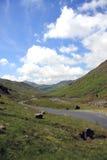 Vallée du secteur de lac (R-U) Photographie stock