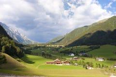 Vallée du Tirol photo libre de droits