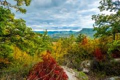 Vallée en automne Photo libre de droits