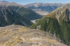 Vallée en parc national du passage d'Arthur Photographie stock libre de droits