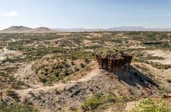 Vallée en Tanzanie Image stock