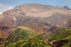 Vallée et montagnes andines, Amérique du Sud Photos stock