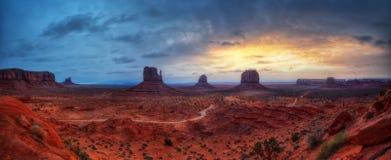 Vallée Etats-Unis de monument photo libre de droits