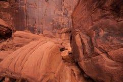 Vallée Etats-Unis de monument. Texture Image libre de droits