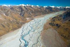 Vallée glaciaire Image libre de droits