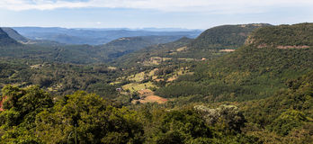 Vallée Gramado Brésil de Quilombo Photographie stock