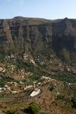 Vallée Gran Rey images libres de droits