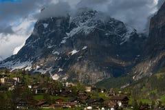 Vallée Grindelwald, Suisse Image stock