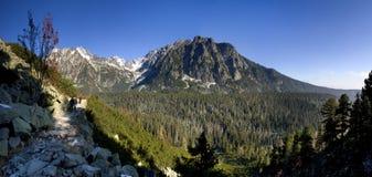 Vallée haut Tatras - en Slovaquie Photos stock