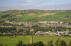 Vallée Huddersfield de Colne Image libre de droits