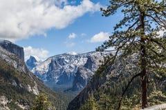 Vallée I de Yosemite Image libre de droits