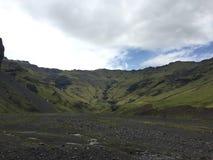 Vallée islandaise Photos libres de droits