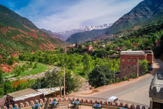 Vallée Maroc d'Ourika Photo stock