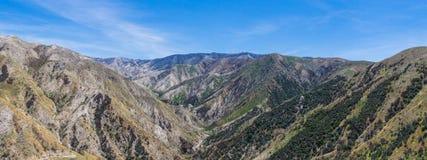 Vallée par la réserve forestière d'Angeles Images stock