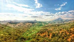 Vallée parfaite en Crimée Images stock