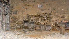 Vallée Ridanna de Ridnaun au Tyrol du sud, Italie - peuvent 27,2017 : hall intérieur de musée du sud d'exploitation du Tyrol les  Photographie stock libre de droits