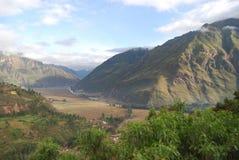 Vallée sacrée d'Inca Images stock
