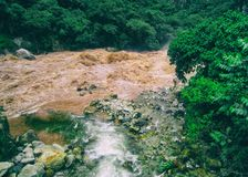 Vallée sacrée de rivière d'Urubamba peru beau chiffre dimensionnel illustration trois du sud de 3d Amérique très Image libre de droits