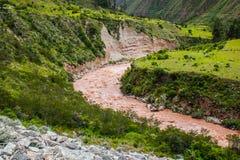 Vallée sacrée de rivière d'Urubamba peru beau chiffre dimensionnel illustration trois du sud de 3d Amérique très Aucune personnes photos libres de droits