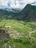 Vallée sacrée des Inca Photos libres de droits