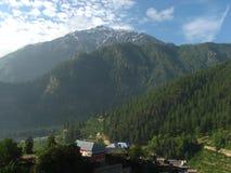 Vallée scénique de montagne Photographie stock libre de droits