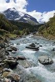 Vallée scénique en Nouvelle Zélande Image libre de droits