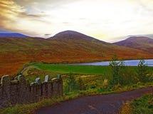 Vallée silencieuse Photo libre de droits