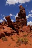 Vallée tombée raboteuse Etats-Unis de monument de formation de roche Photos stock