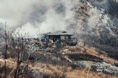 Vallée volcanique d'Owakudani images libres de droits