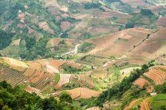 Vallées de Pan Tan de La photographie stock
