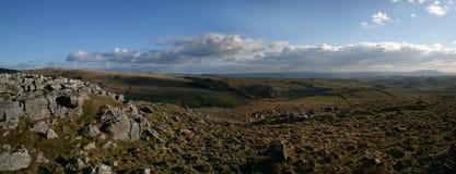 Vallées de Yorkshire Photo stock