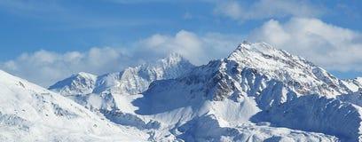 Vallées suisses de quatre d'alpes Image libre de droits