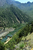 Vall D ` Aran Aragon Arkivfoton