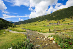Vall d'Incles in Andorra Royalty Free Stock Photography