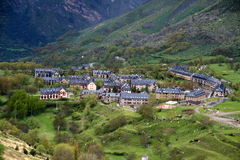 Vall de Boi, Catalonia. Vall de Boi is a narrow, steep-sided valley and a small municipality in the province of Lleida, in the autonomous community of Catalonia royalty free stock image