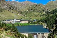 Vall de Nuria στα καταλανικά Πυρηναία, Ισπανία στοκ εικόνα με δικαίωμα ελεύθερης χρήσης