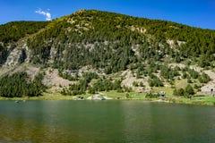 Vall de Nuria στα καταλανικά Πυρηναία, Ισπανία στοκ εικόνα