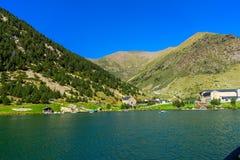 Vall de Nuria στα καταλανικά Πυρηναία, Ισπανία στοκ εικόνες με δικαίωμα ελεύθερης χρήσης