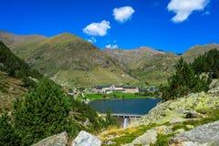 Vall de Nuria στα καταλανικά Πυρηναία, Ισπανία στοκ φωτογραφία με δικαίωμα ελεύθερης χρήσης