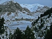 Vall de Nuria royalty free stock photography