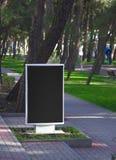 Valla publicitaria del anuncio Foto de archivo libre de regalías