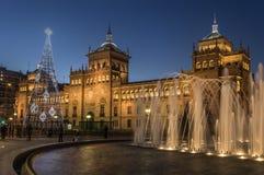 Valladolid, académie de cavalerie Photographie stock libre de droits