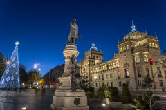 Valladolid, académie de cavalerie Photos stock