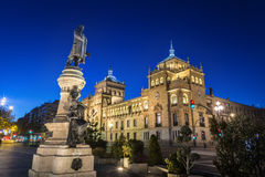 Valladolid, academia de caballería Fotografía de archivo libre de regalías